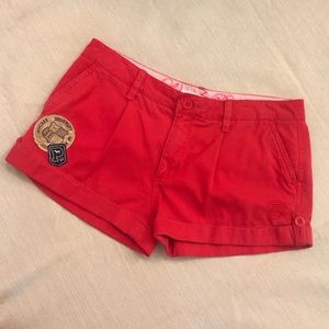 VS PINK Red Shorts